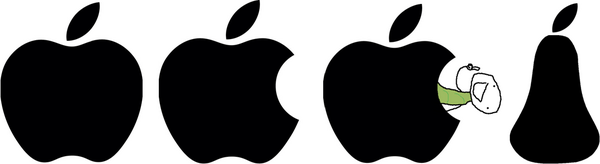 La storia del logo Apple
