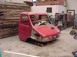 Nella prima uscita a soli € 14,99 il primo pezzo del vostro Daily, la cabina rossa.