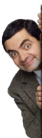 Mr Bean spunta dal lato destro.png