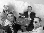 Mao Tse-Tung Ceausescu Maresciallo Tito e Kim-il-Sung giocano a Risiko.jpg