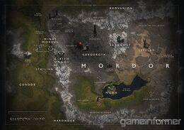 Mappa di Mordor da Shadow of War.jpg