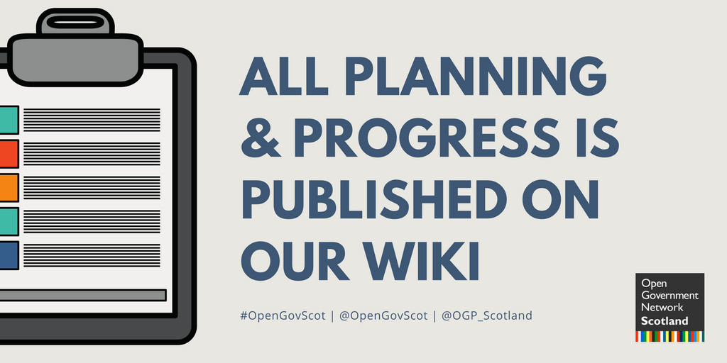 All planning and progress is published on our wiki