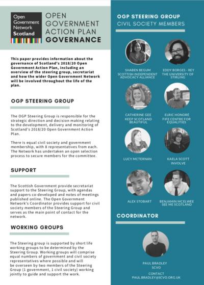 OGP Steering Group - Action Plan Governance (Civil Society)
