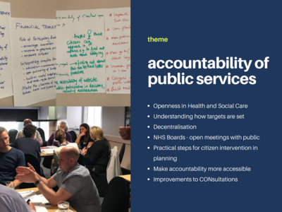 Accountability of public services