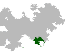 Geographical Location of New Hyspania at Orda