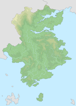 Map of Songthom