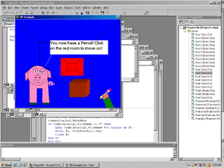 Visual Basic - 3D Example