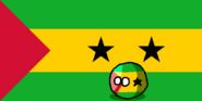 São Tomé and PríncipeBall (Countryball and Flag).png