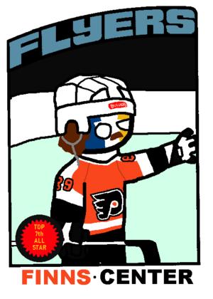 Hockey Player by Jose