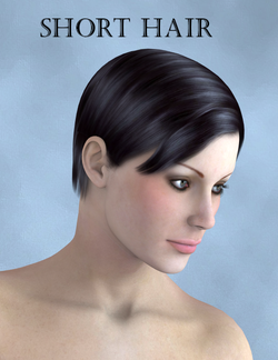 Short Hair - Poser and Daz Studio Free Resources Wiki