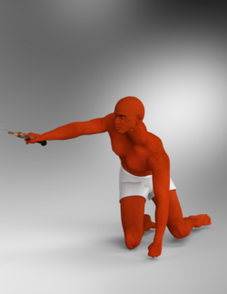 Schlabber-Poses for Michael holding a sword.png