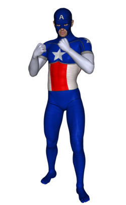 Cap America second skin textures for M4 (II).png