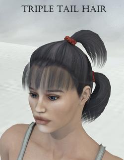 AprilYSH-Triple Tail Hair.png