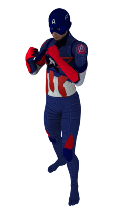 Cap America age of ultron 2nd skin textures for M4.png