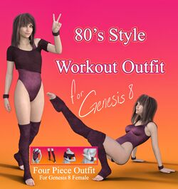 80s Style Workout Outfit for G8F.jpg