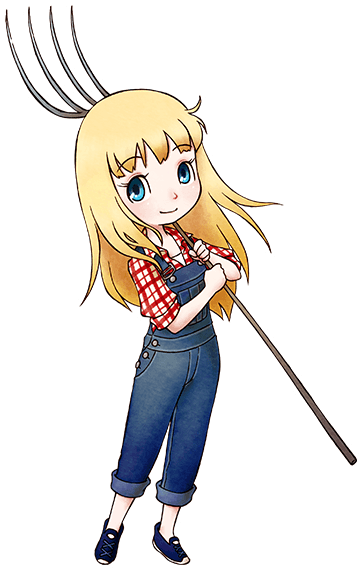 Claire Story Of Seasons Friends Of Mineral Town Ranchstory