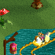 Mandarin Duck Water Ride RCT2 Icon.png