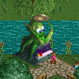 Sea Food Stall RCT2 Icon.png