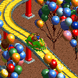 Carnival Float Ride - Frog Cars RCT2 Icon.png