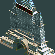 Roaring Twenties Park Entrance RCT2 Icon.png