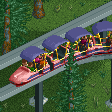 Retro-style Monorail Trains RCT2 Icon.png