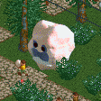 Candyfloss Stall RCT2 Icon.png