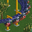 Lay-down Roller Coaster RCT2 Icon.png