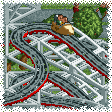 Wooden Wild Mouse RCT1 Icon.png