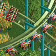 Flying Roller Coaster RCT2 Icon.png