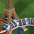 TGV Train Roller Coaster RCT2 Icon.png