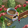 Hot Chocolate Stall RCT2 Icon.png
