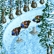 Penguin Bobsleigh RCT2 Icon.png
