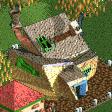 Crooked House RCT2 Icon.png