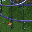 Mini Suspended Flying Coaster RCT2 Icon.png