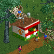 Pizza Stall RCT2 Icon.png
