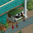 Sunglasses Stall RCT2 Icon.png