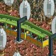 Suspended Monorail RCT2 Icon.png