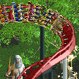 Cerberus Coaster RCT2 Icon.png
