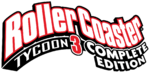 RollerCoaster Tycoon 3 Complete Edition logo on Epic Game Store.png