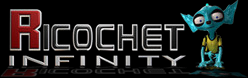 Ricochet Infinity credits - game logo.png