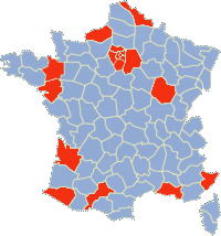 riots spreading to different areas of France