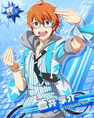 Kyosuke Aoi/Card Data - The iDOLM@STER: SideM Unofficial