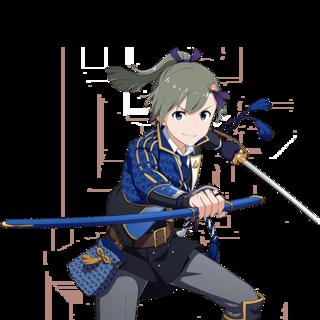 【Dessert Swordsman】Makio Uzuki+ T.png