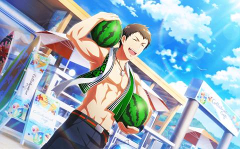 【Sparkling Summer Smiles】Seiji Shingen F.png