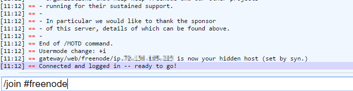Freenode IRC webchat join freenode channel.png