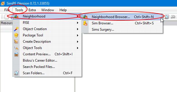 Renaming neighborhood folder simpe 1.png