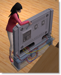 Sims fixing TV.png