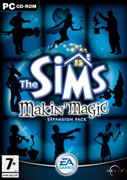 The Sims Makin' Magic Cover.jpg