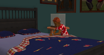Tommy Urban making their bed.png