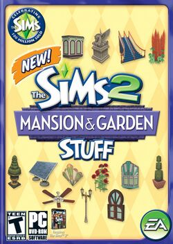 The Sims 2 Mansion & Garden Stuff Cover.jpg